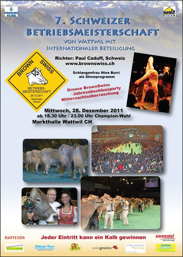 Flyer 7. Betriebsmeisterschaft von Wattwil